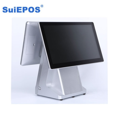 15.6 inch dual screen touch POS machine